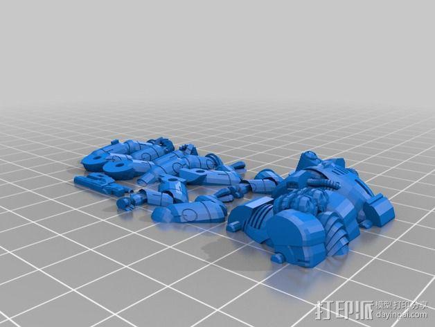 迷你机甲 3D模型  图8
