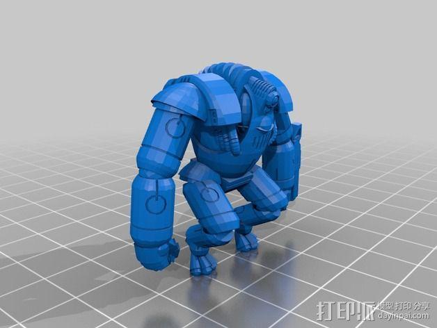 迷你机甲 3D模型  图10
