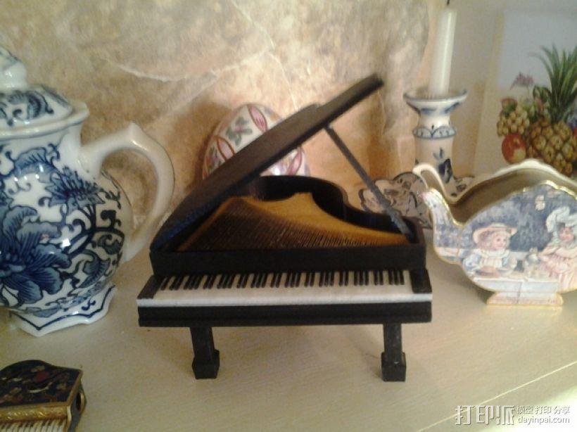 钢琴 3D模型  图1