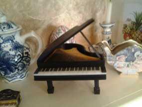 钢琴 3D模型