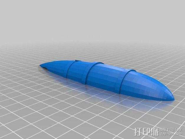 Kirov基诺夫飞艇 3D模型  图5
