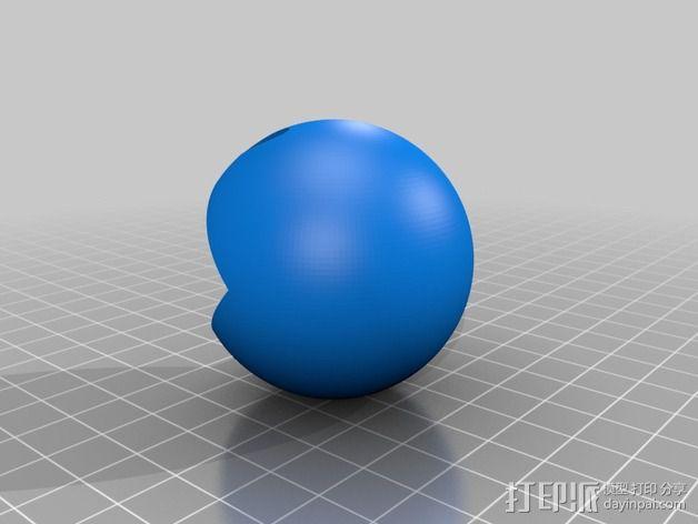 吃豆人和小幽灵 3D模型  图4