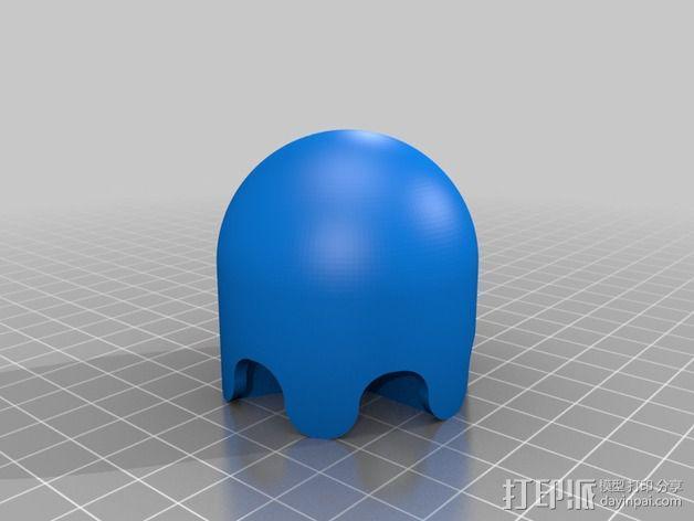 吃豆人和小幽灵 3D模型  图5