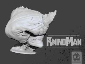 犀牛人 3D模型