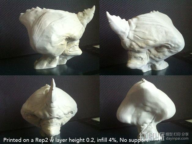 犀牛人 3D模型  图5