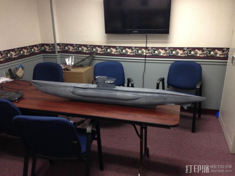 U型潜艇 3D模型  图1