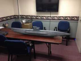 U型潜艇 3D模型