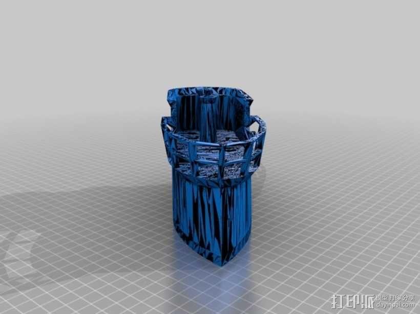 U型潜艇 3D模型  图6