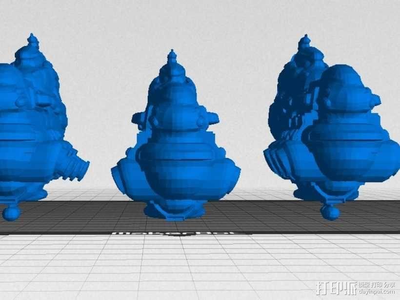 Eve Online星战前夜无畏号星舰 3D模型  图1