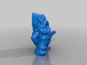 外星小矮人 3D模型