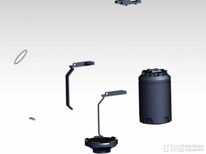 手榴弹 3D模型  图4