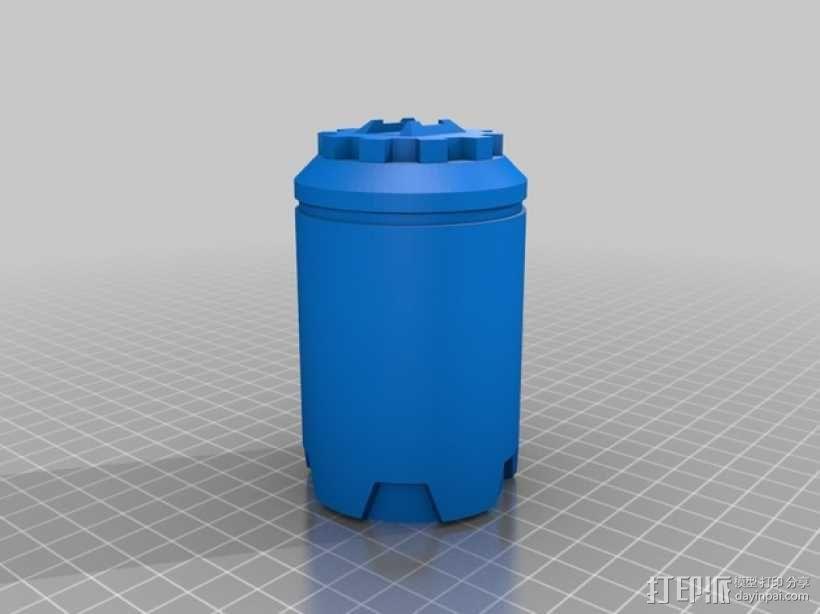 手榴弹 3D模型  图2