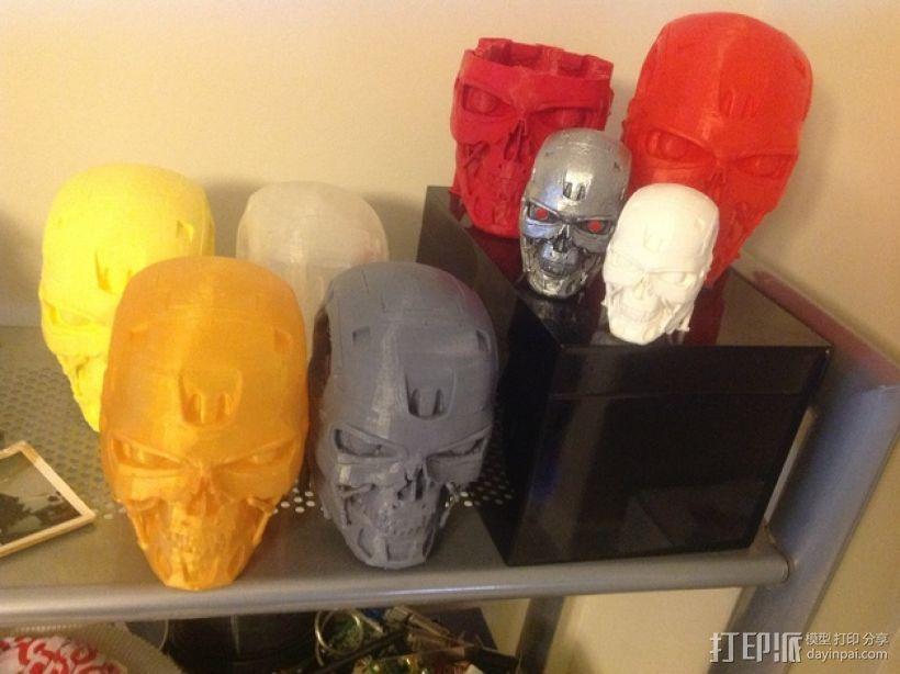 机械骷髅头 3D模型  图8