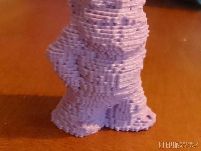乐高小矮人 3D模型  图1