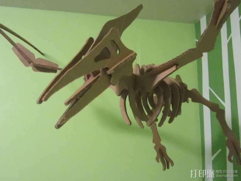 翼龙 3D模型  图2