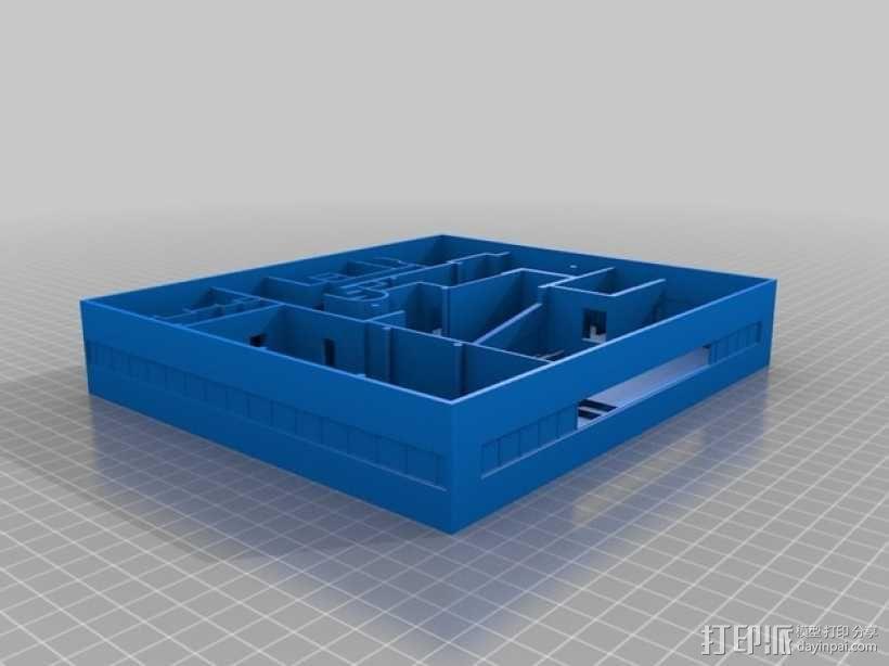 SAVOYE萨伏伊别墅 3D模型  图5