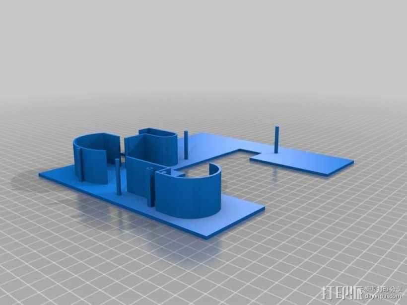 SAVOYE萨伏伊别墅 3D模型  图4