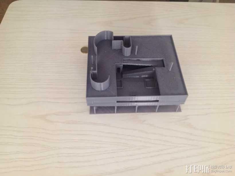 SAVOYE萨伏伊别墅 3D模型  图7