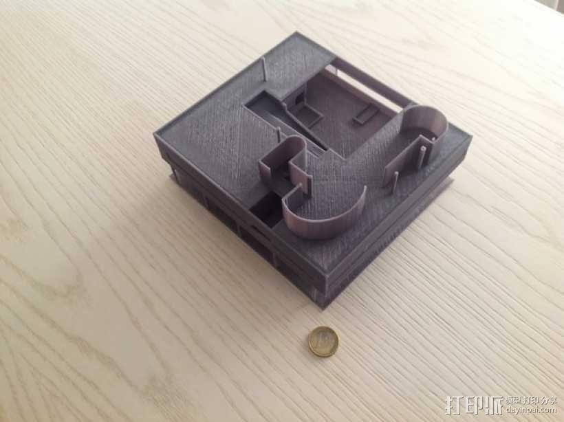 SAVOYE萨伏伊别墅 3D模型  图8