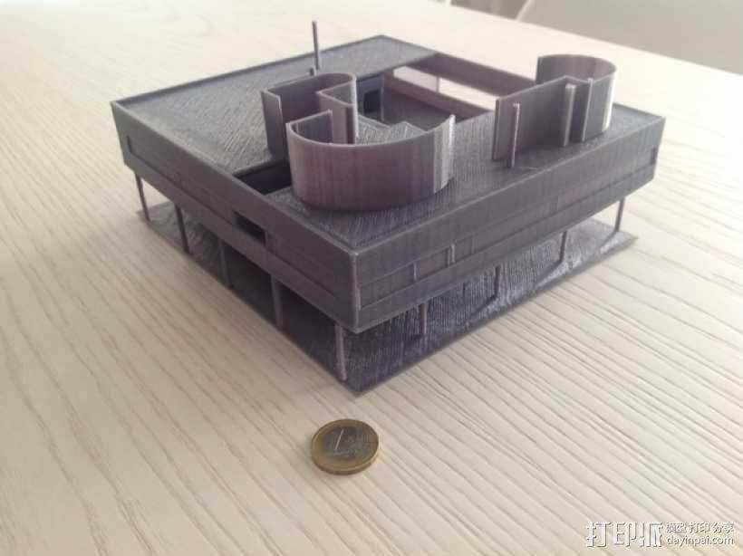 SAVOYE萨伏伊别墅 3D模型  图6