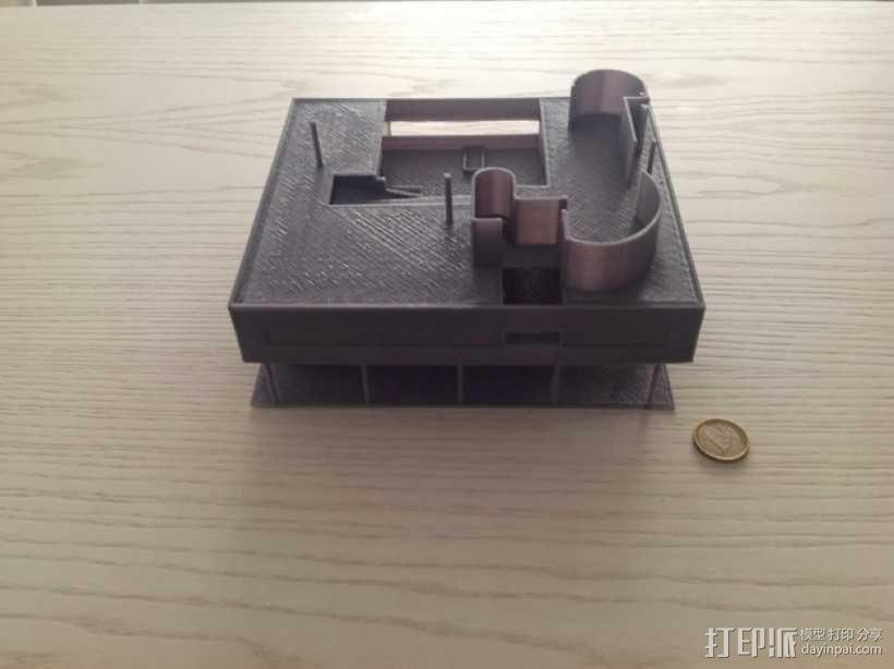 SAVOYE萨伏伊别墅 3D模型  图9