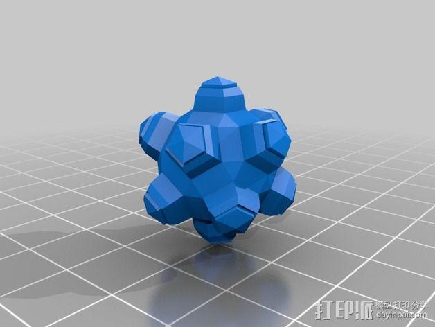 滚雷 3D模型  图1