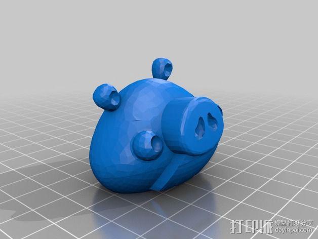 捣蛋猪 3D模型  图2