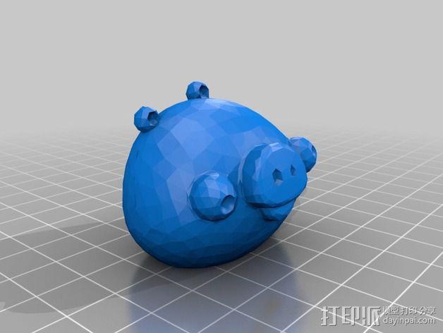 捣蛋猪 3D模型  图3