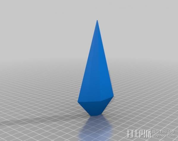 苦无 3D模型  图2