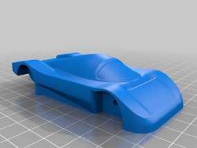 梅赛德斯C9超级跑车 3D模型