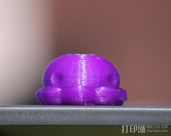 参数化鱿鱼模型 3D模型  图2