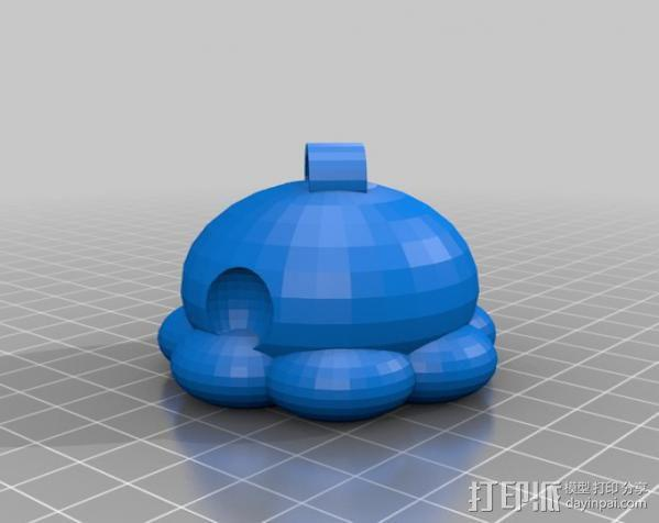 参数化鱿鱼模型 3D模型  图6