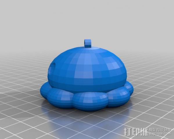参数化鱿鱼模型 3D模型  图7