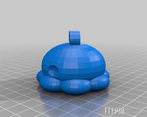 参数化鱿鱼模型 3D模型  图9