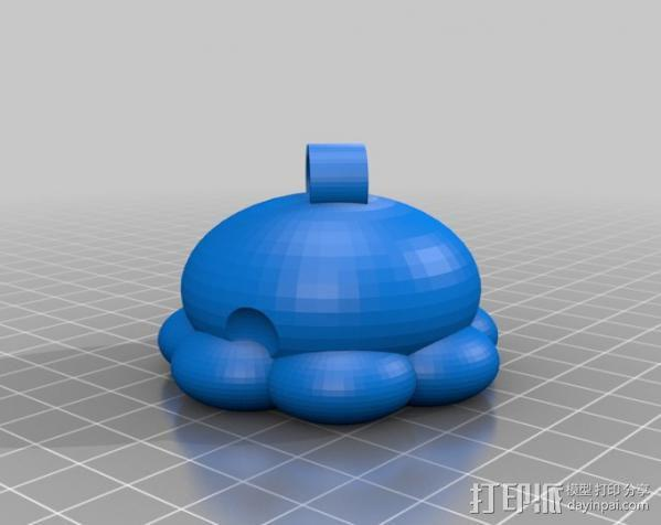 参数化鱿鱼模型 3D模型  图8