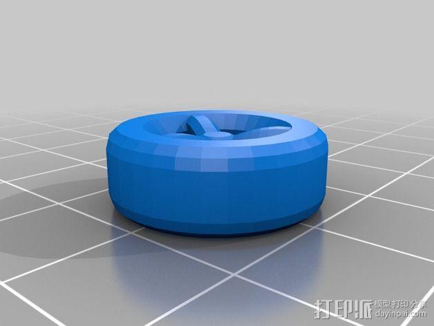 奔驰Smart fortwo汽车模型 3D模型  图2