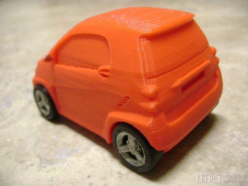 奔驰Smart fortwo汽车模型 3D模型  图7