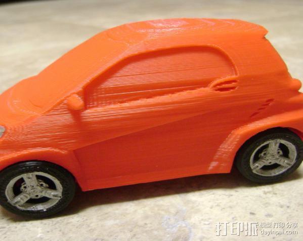 奔驰Smart fortwo汽车模型 3D模型  图6