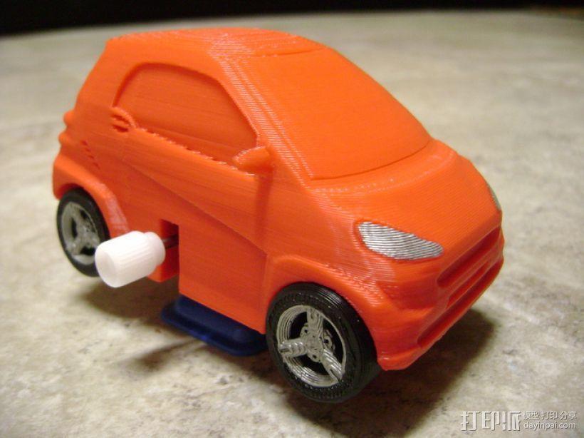 奔驰Smart fortwo汽车模型 3D模型  图8