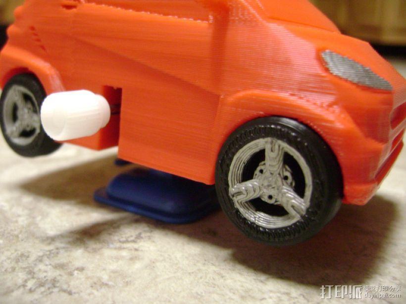 奔驰Smart fortwo汽车模型 3D模型  图9