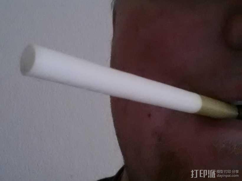 香烟 3D模型  图1