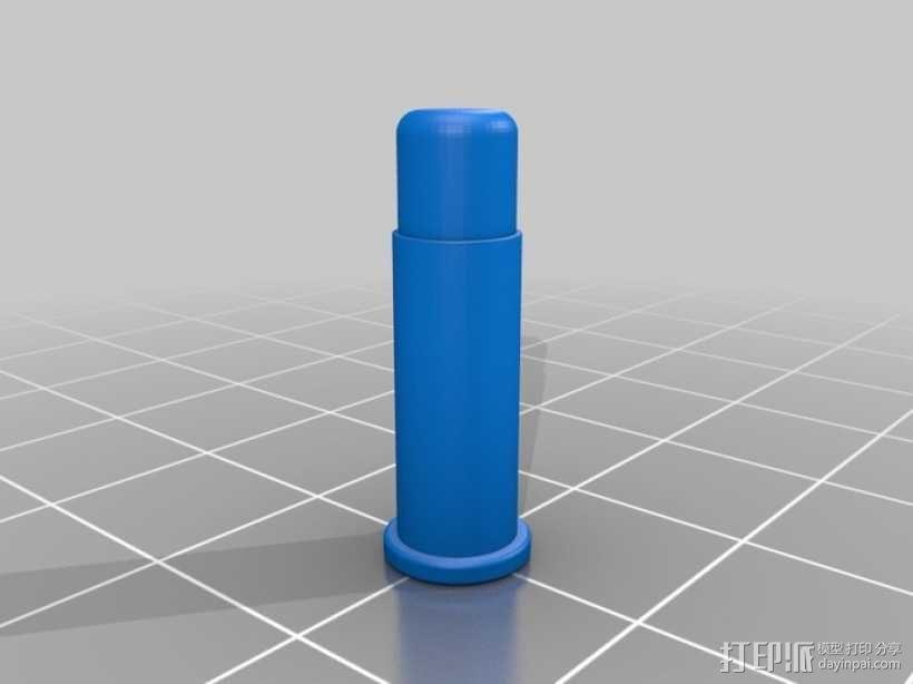 底缘底火式子弹 3D模型  图2