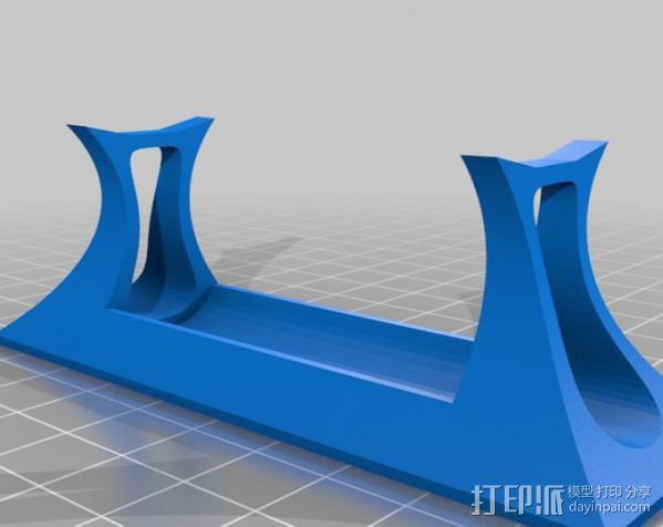 展示支架 3D模型  图2