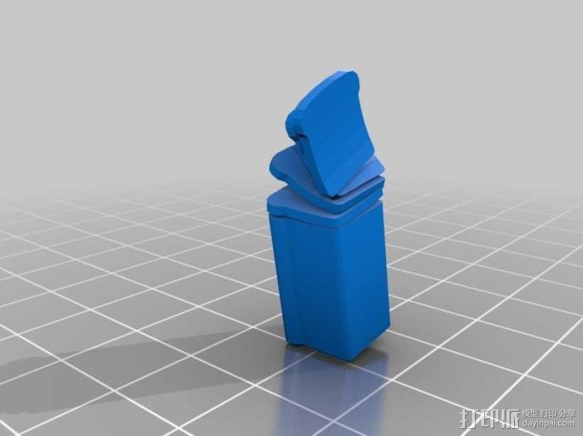 面包 方包 3D模型  图2
