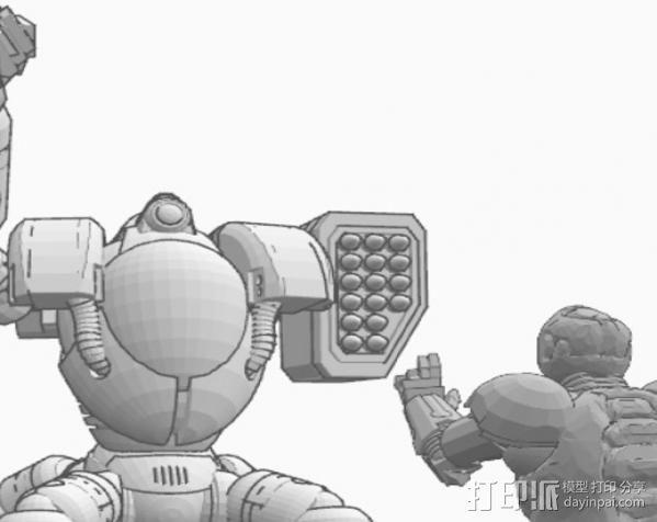 指挥官 3D模型  图3