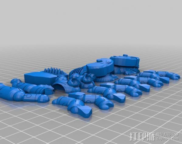 指挥官 3D模型  图8