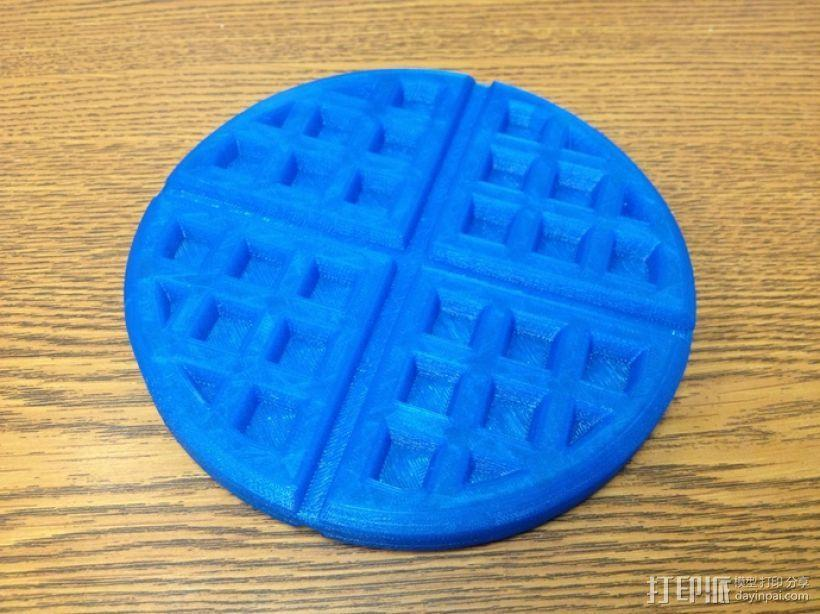 华夫饼干 3D模型  图3