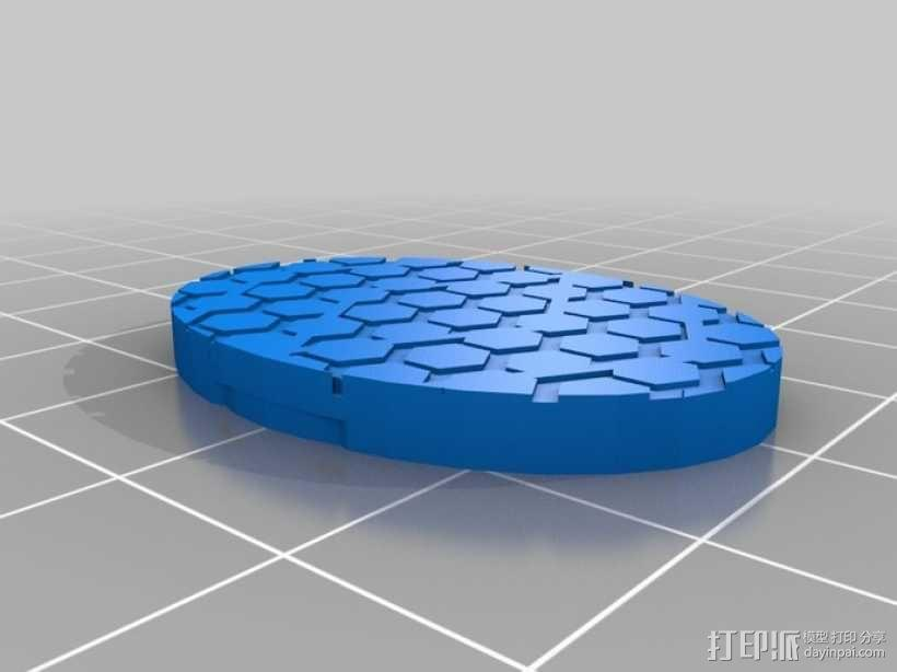 游戏造型 机械轮炮车 3D模型  图6
