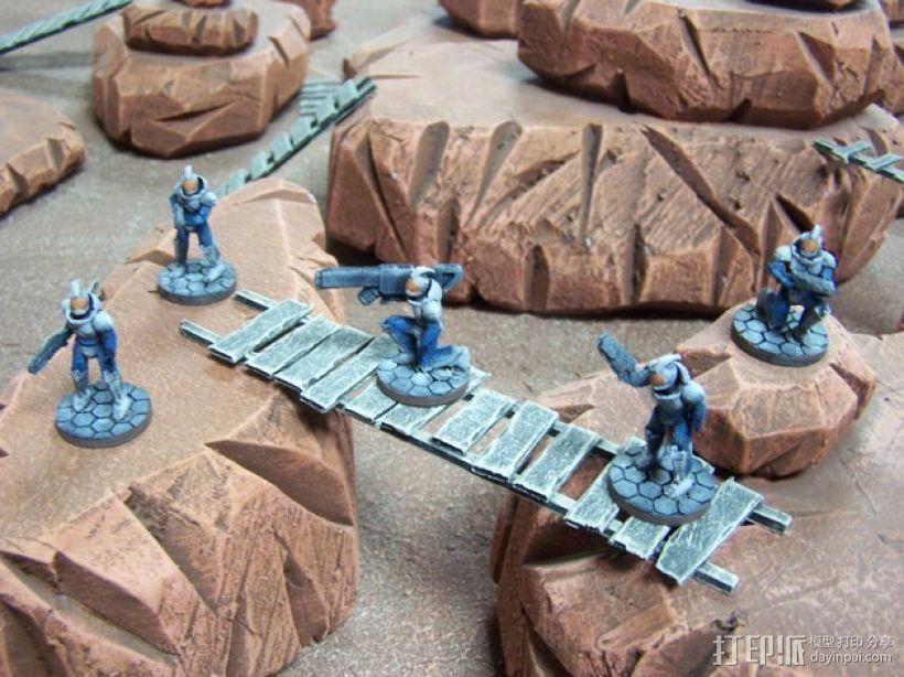 游戏造型 战士 3D模型  图2
