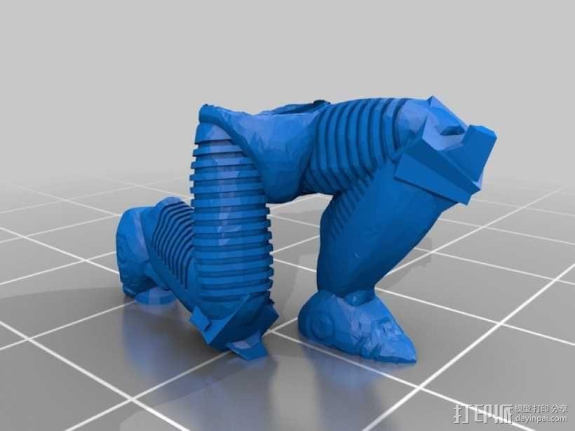 游戏造型 战士 3D模型  图6